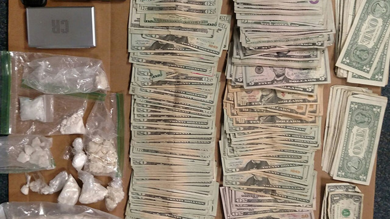 Police find 429 grams of cocaine, cash in I-197 traffic stop, Anne Arundel County Police say