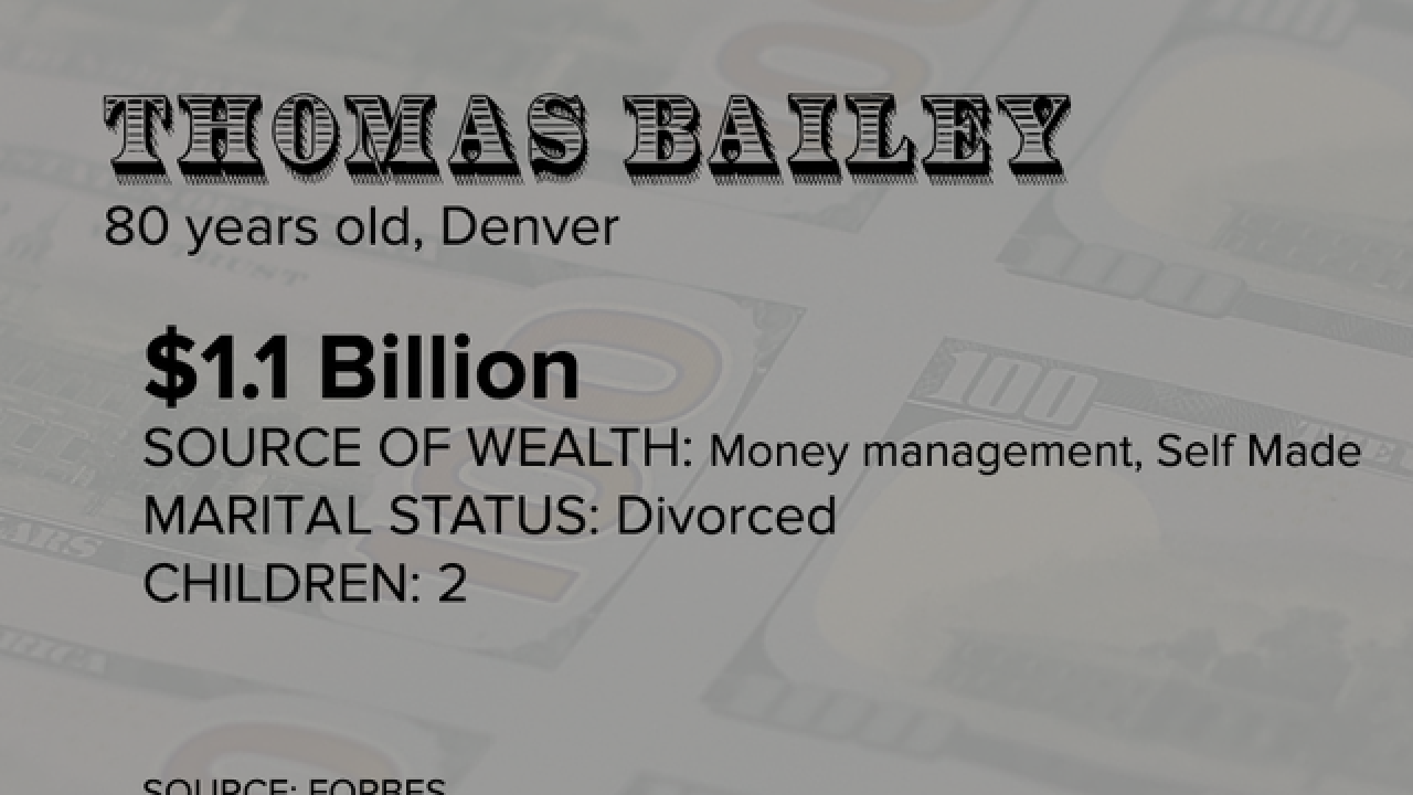 Meet Colorado's 10 billionaires