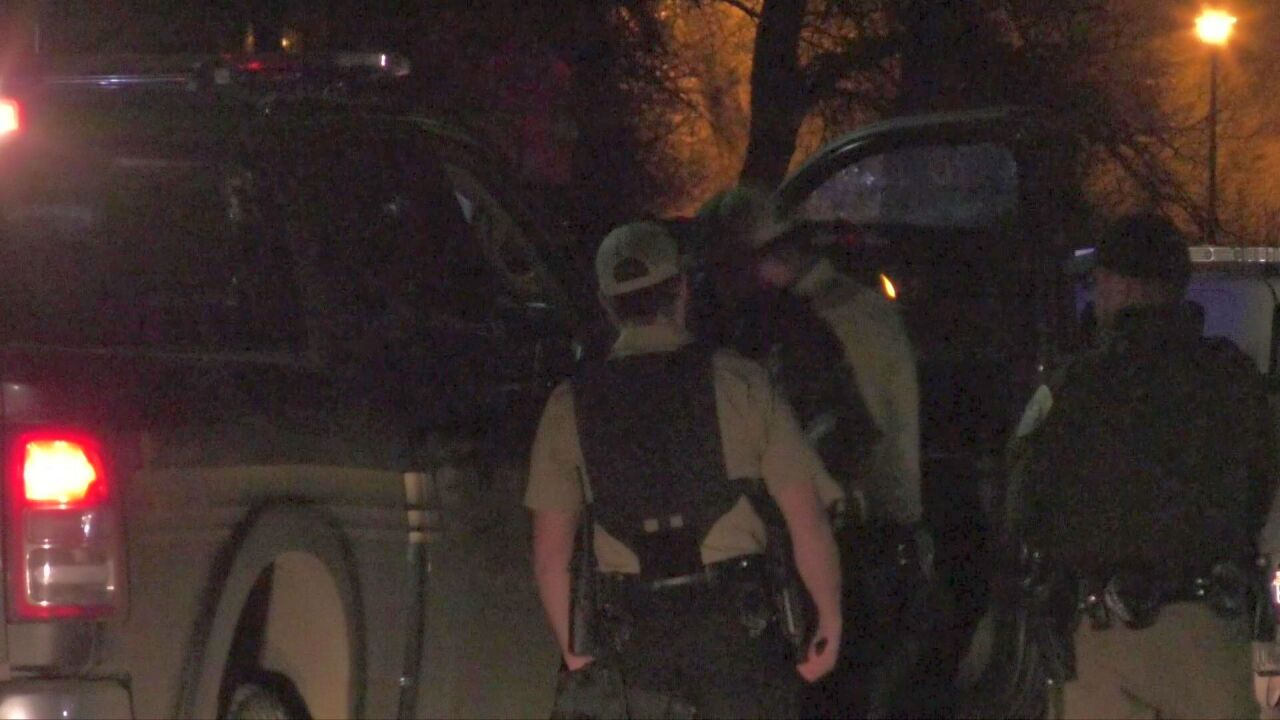 Armed standoff continues at Livingston trailer court