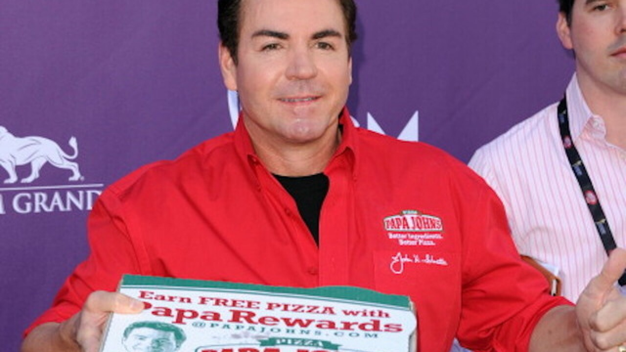Papa John says he's being scapegoated