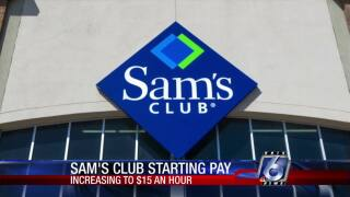 Sam's Club boosting starting salaries for new employees