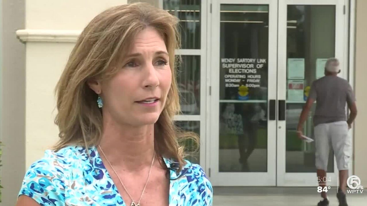 Palm Beach County Supervisor of Elections Wendy Sartory Link
