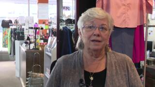 Inge Buchholz, owner of Inge's Fashion in downtown Great Falls