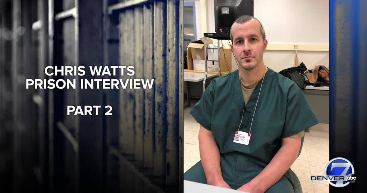 In prison interview, Chris Watts tells FBI, police about murders of