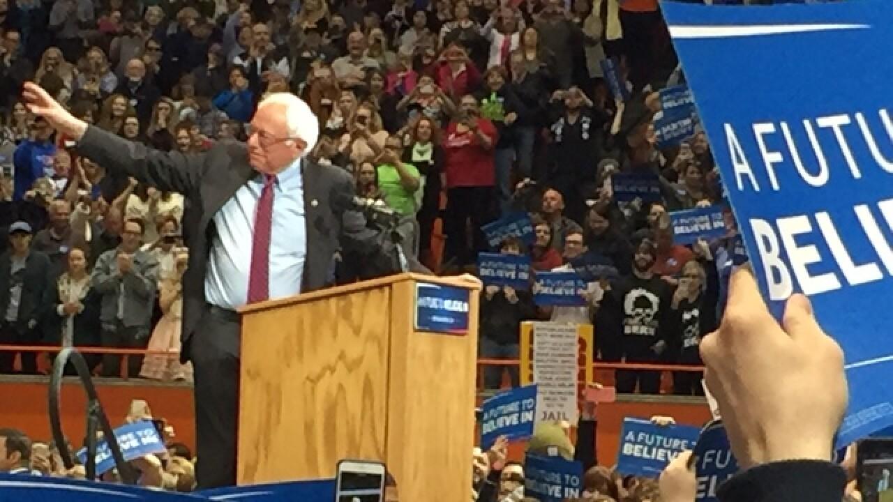 WATCH: Sen. Bernie Sanders speaks in Boise