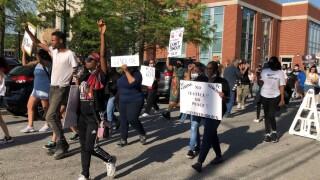 Andrew Brown protest (April 27).jpg