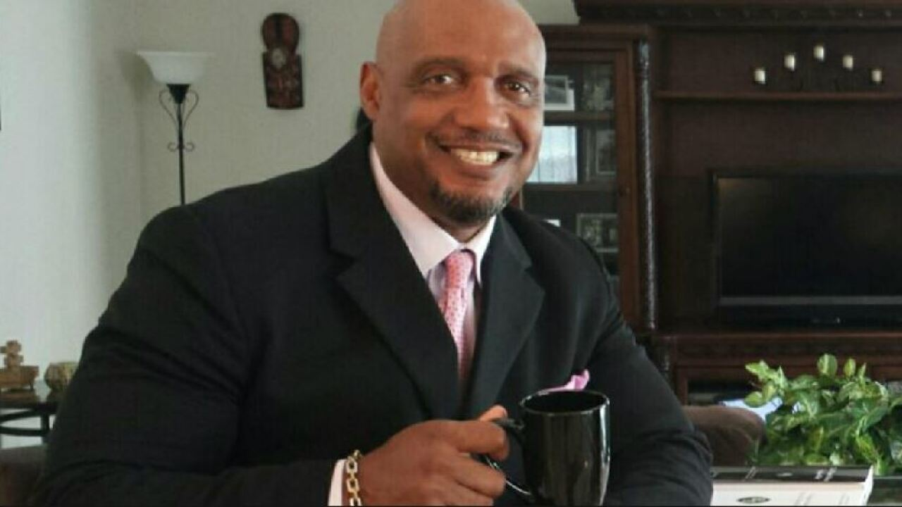 Independent candidate Linnard Harris would push for stricter rules on 'assaultweapons'