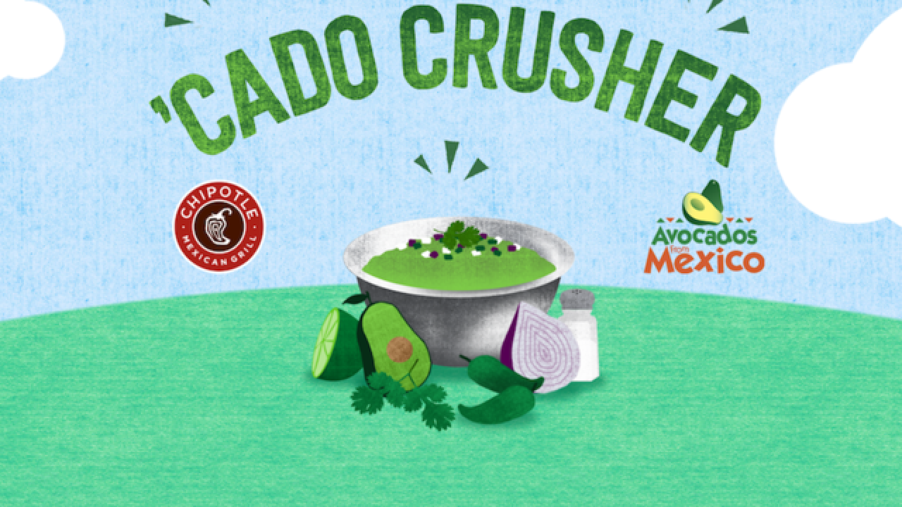 Chipotle's new game rewards you with free food