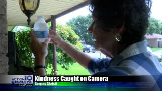 Local woman leaves her mail carriers a treat to beat the heat