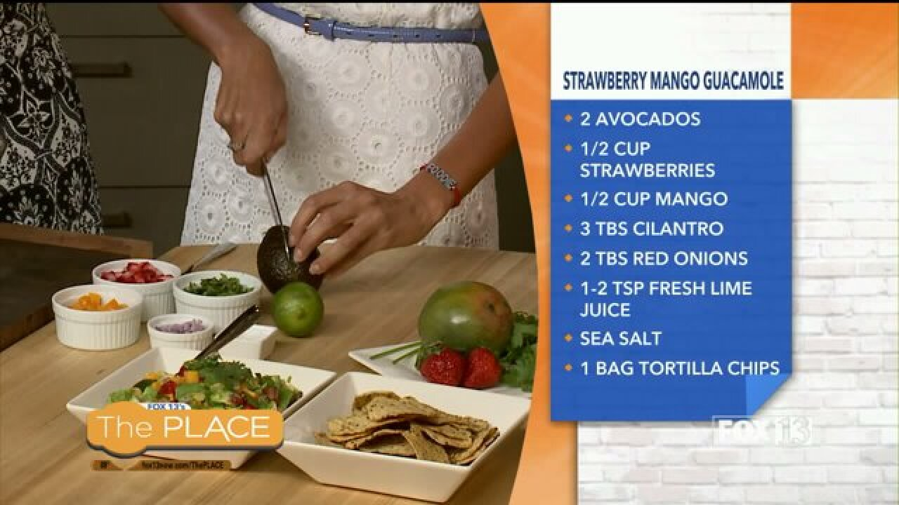 Strawberry Mango Guacamole Recipe