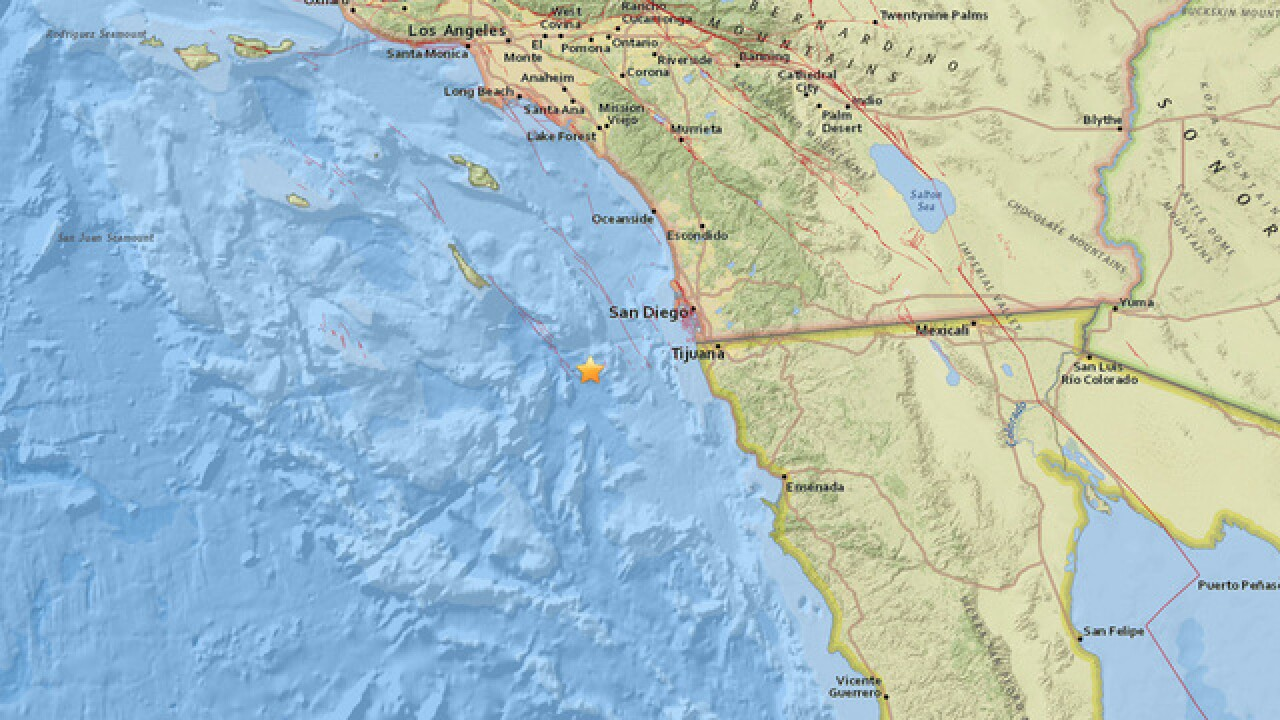 Did you feel it? 3.1-magnitude earthquake strikes off coast of Coronado