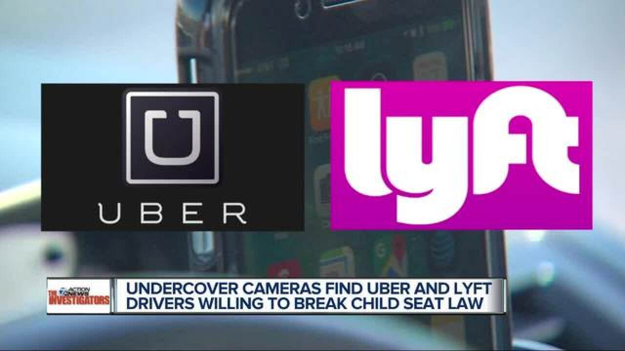Uber, Lyft drivers caught breaking law on camera