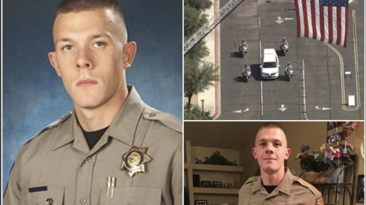 TODAY: Slain trooper to be honored at funeral