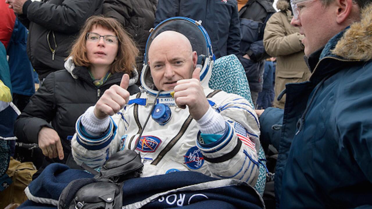 Scott Kelly describes year in space