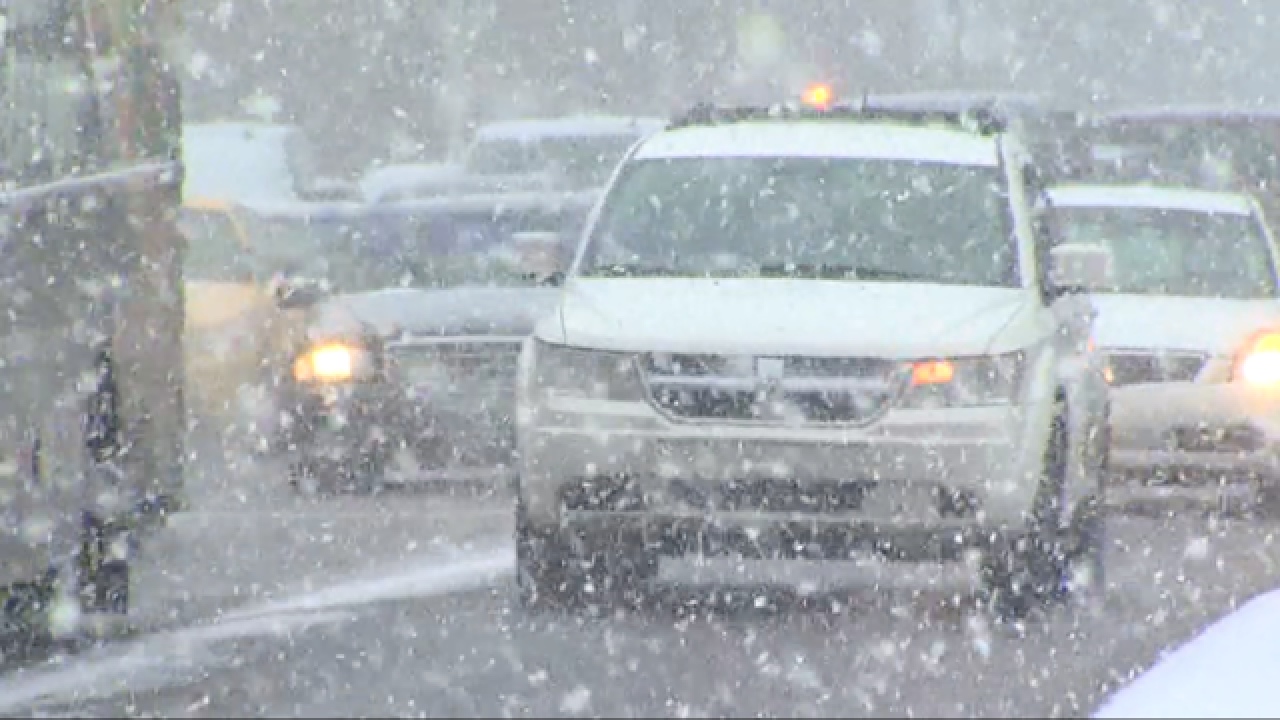 AAA Michigan issues winter weather warning, urges drivers to stay off roads