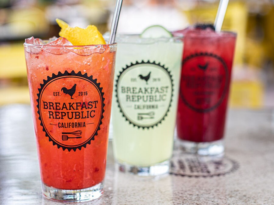 Breakfast Republic Comic-Con drinks