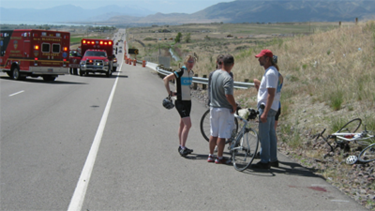 UHP: Construction sign may have caused fatal Utah County crash