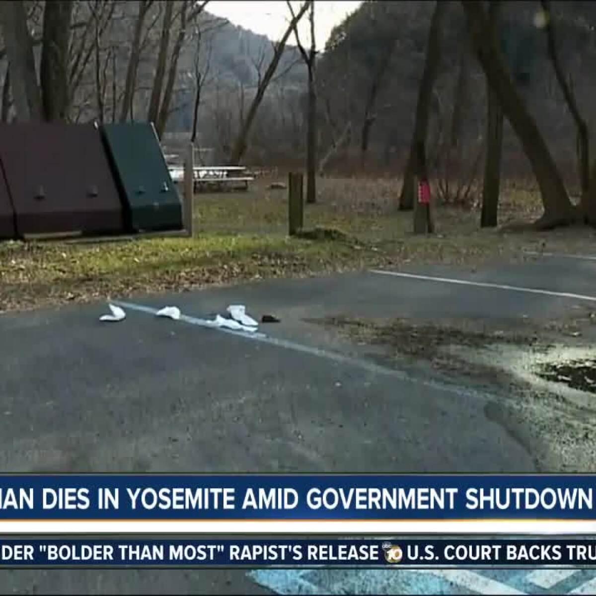 Government Shutdown Delays Investigation Into Man's Death