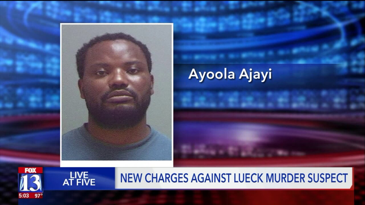 Man accused of murdering MacKenzie Lueck charged in separate sex abusecase