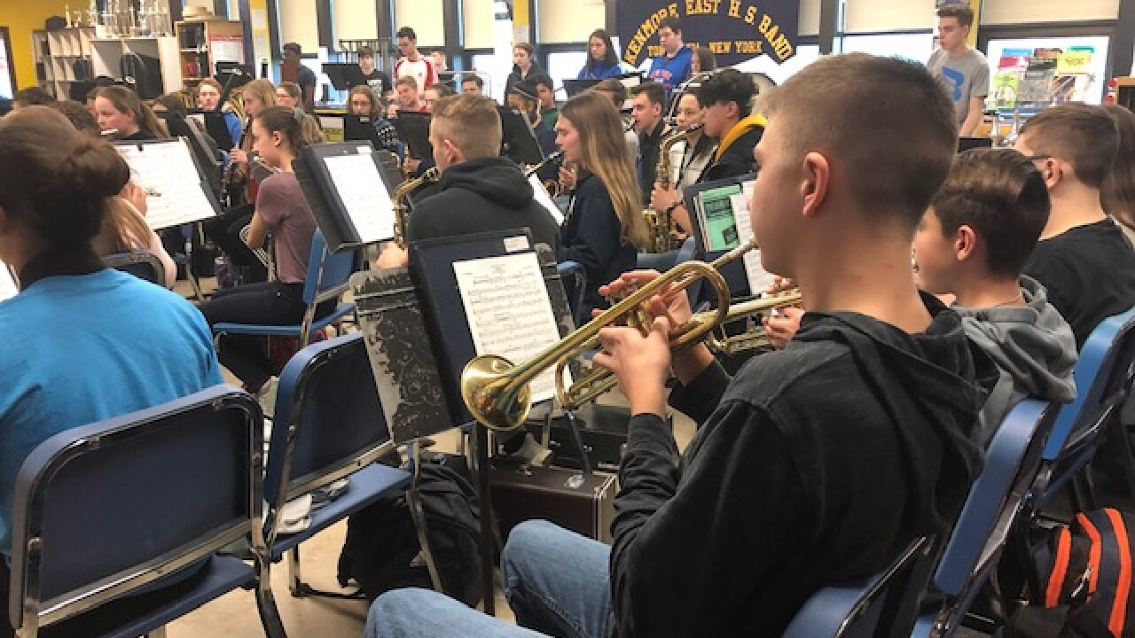 school band music Kenmore East