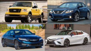 most stolen vehicles in Florida in 2018