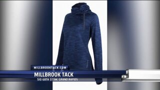 Staying warm on Casual Friday with Millbrook Tack