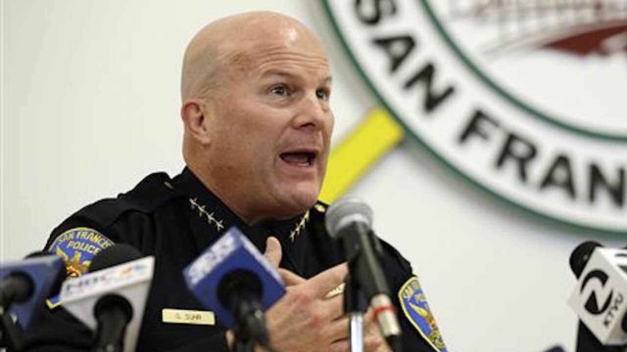 San Francisco police chief resigns