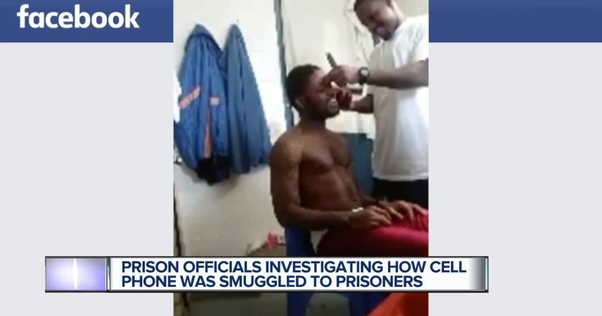 Officials Investigate How Cell Phone Inmate Used To Post To Facebook Got Into Michigan Prison