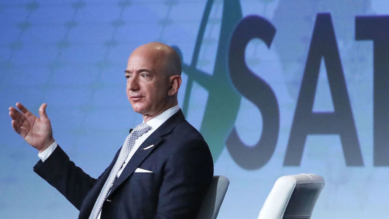 Jeff Bezos donates $10 million to group that help veterans get elected