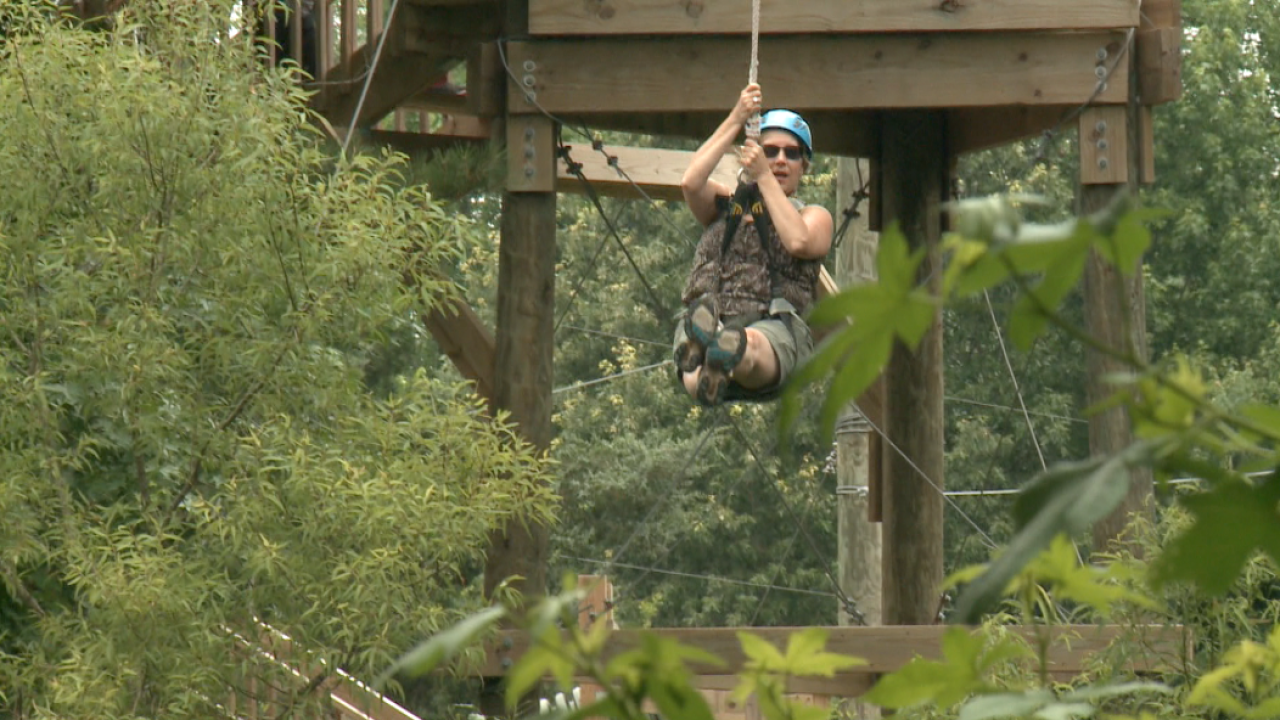A new zip line and adventure park opens in Virginia Beach!