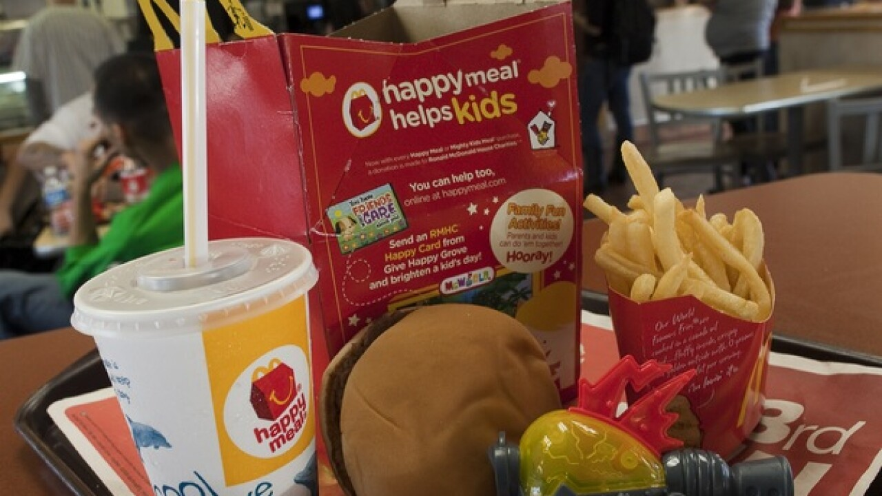 Disney toys are returning to McDonald's Happy Meals