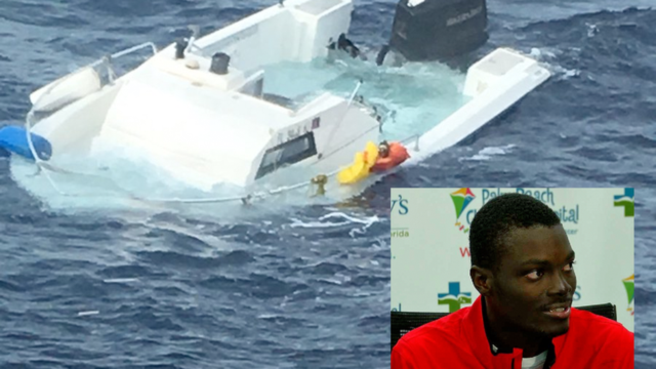 Man rescued at sea grateful to be alive