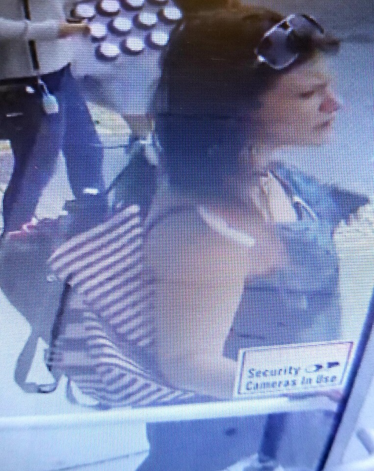 Photos: Norfolk thrift shop says 'Bonnie & Clyde' stole from them, escaped on amoped