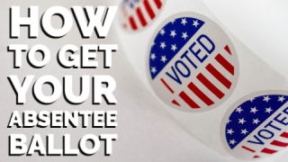 How to get your absentee ballot