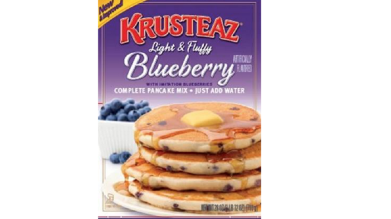 Blueberry pancake mix recalled over E. coli concerns