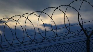 Prison razor wire file photo detention jail