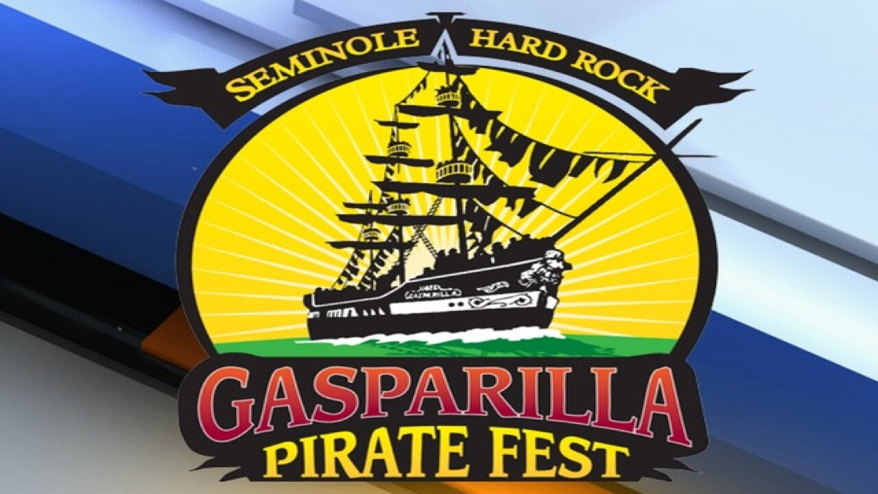 GASPARILLA 2016 | Road closures and parking