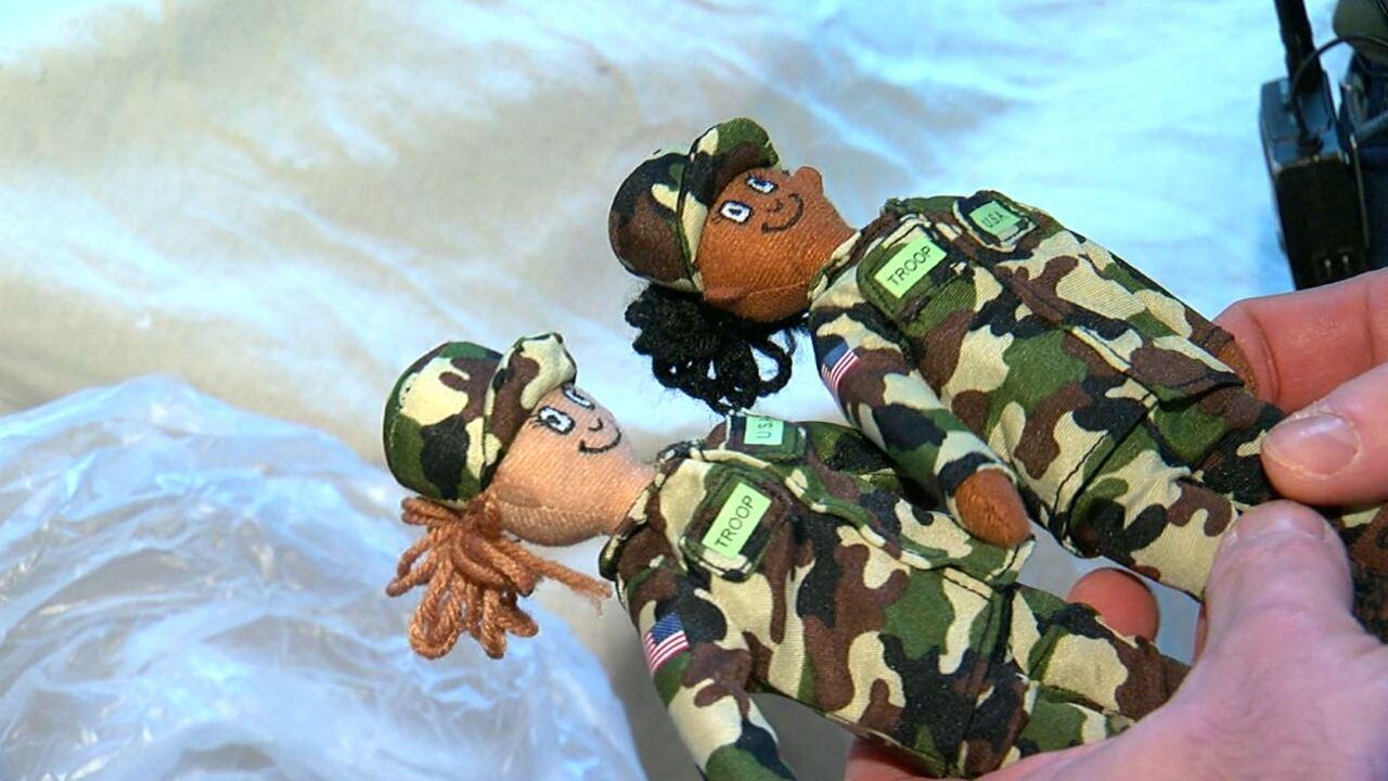 Female Troop on the Stoop