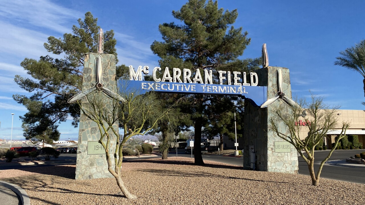 McCarran International Airport is located in Las Vegas and has been named as such since the 1940s