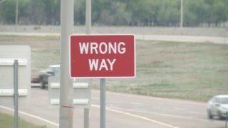 Wrong way prevention work Monday night in Pueblo