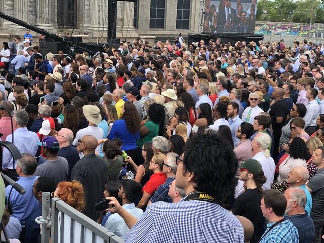PHOTOS: Ford's Train Station Celebration