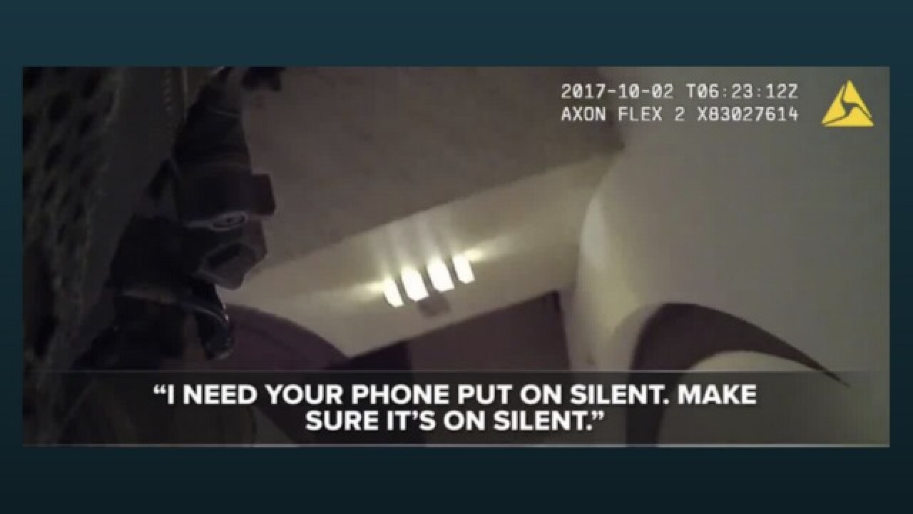Body cam footage caught officer's call with son