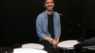 Sensory percussion triggers let drummer Ben Sloan curate otherworldly set of electronic sounds