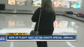 Wife of flight 3407 victim awaits special gift
