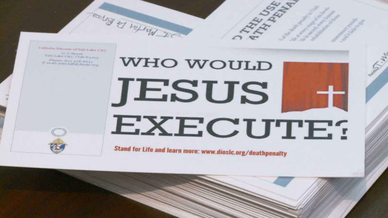 Catholic Diocese to fight death penalty, 'end of life options' bills in Utahlegislature