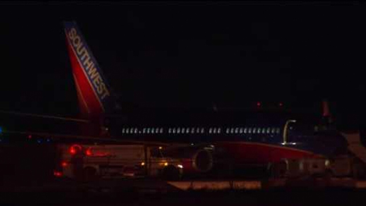 Southwest Flight From Nashville Diverted To DFW