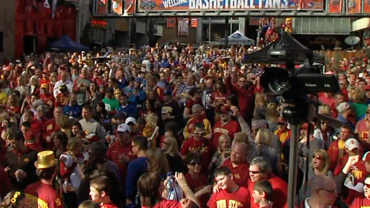Big 12 Tournament crowds