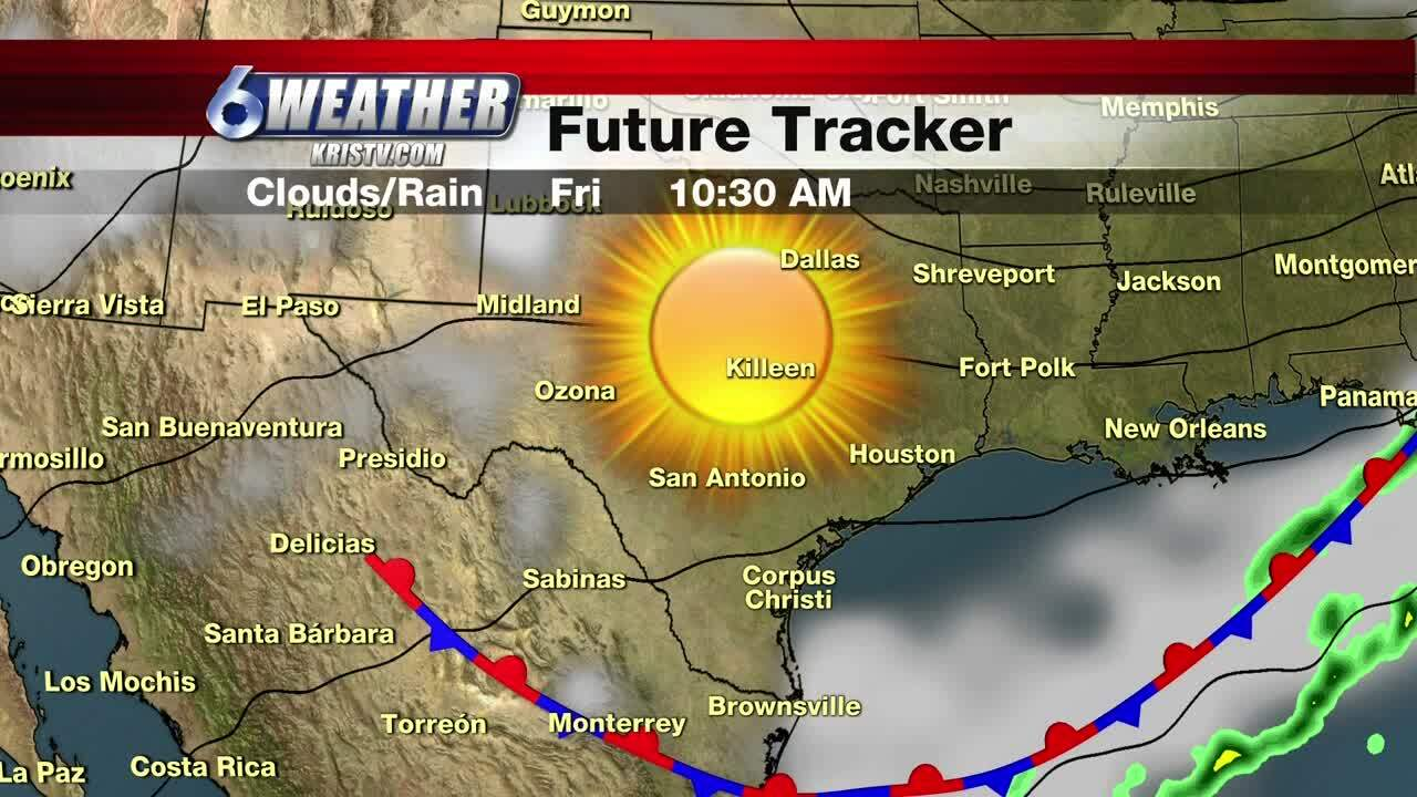 Beautiful skies, but cool temperatures expected