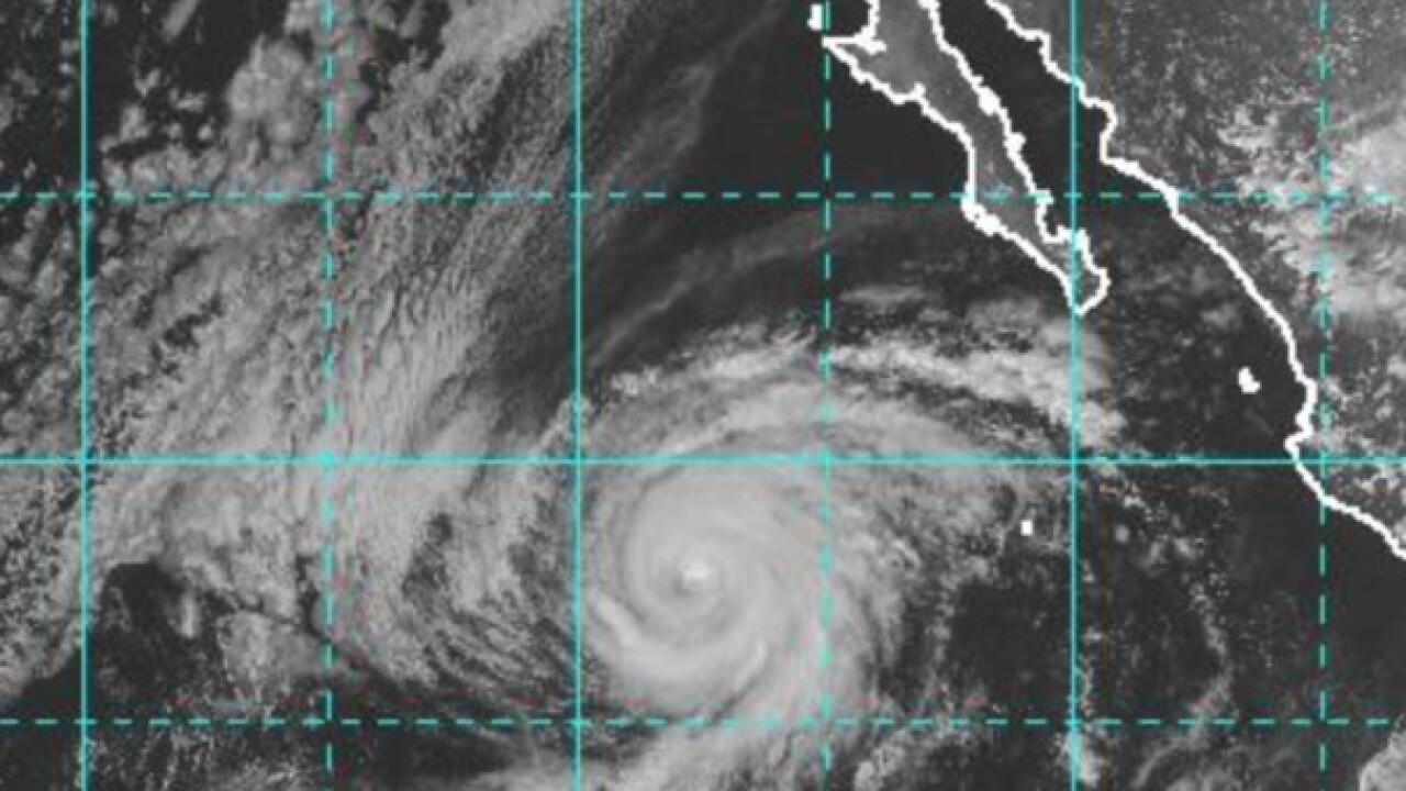 Hurricane Rosa to bring high surf, thunderstorms to San Diego's coast