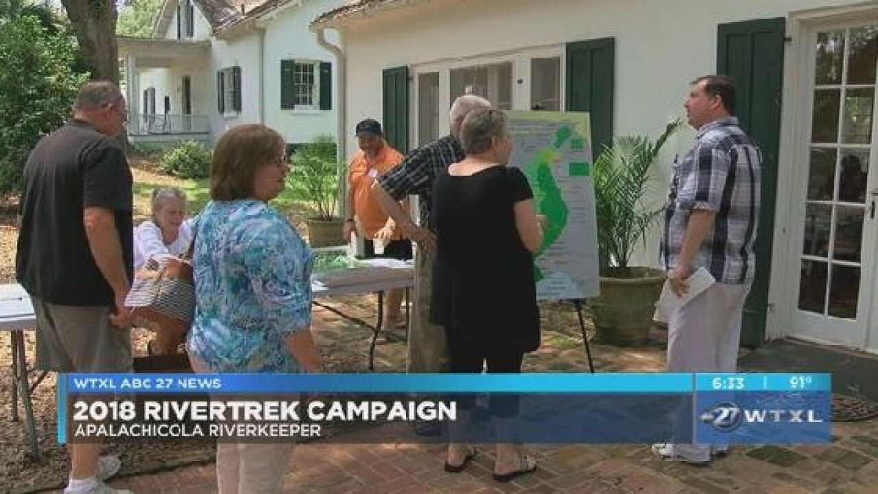 Apalachicola Riverkeeper kickoff annual River Trek campaign